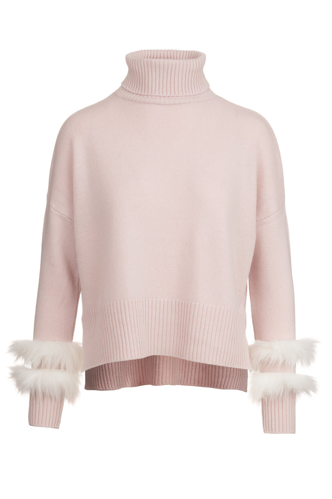 Faux Fur India Knit