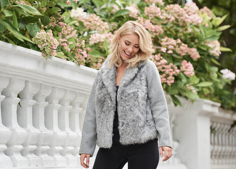 Cashmere and Shearling Jacket