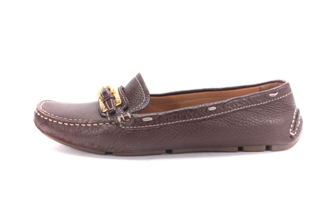 leather prada - Loafers �C THE MATERIAL WRLD