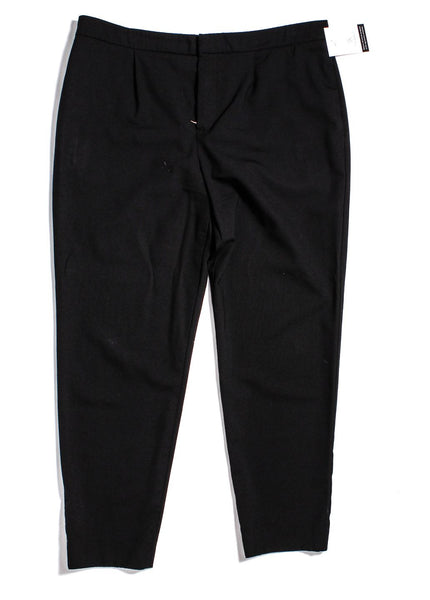 CHLOÉ Black Wool Dress Pants Size 42 US 10