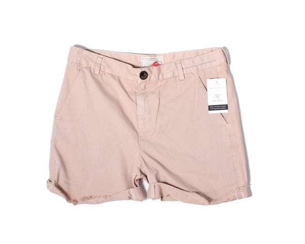 CURRENT ELLIOTT Nude The Captain Roll Shorts Sz 27
