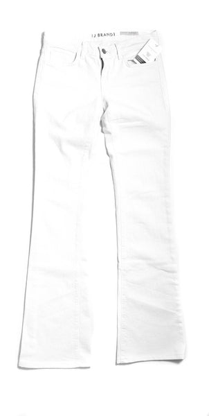J BRAND White #7089 Mae Flared Jeans Size 25