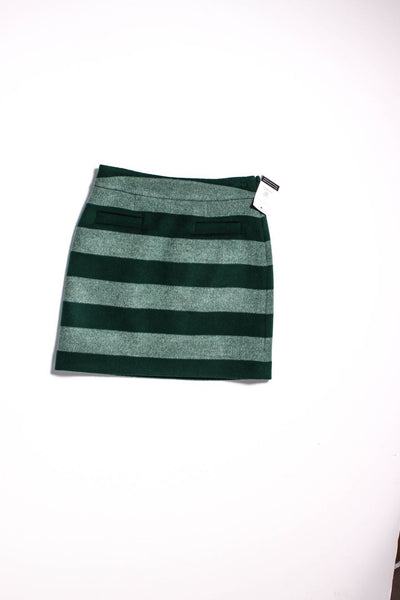 KATE SPADE Green Straight, Pencil Skirt Size 2