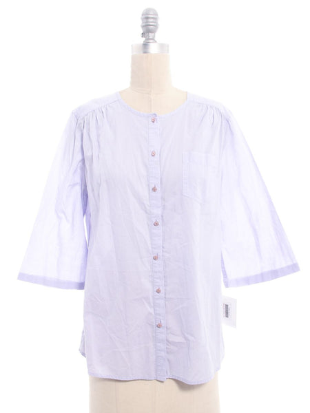 MARC BY MARC JACOBS Purple Button Up Shirt Sz 10
