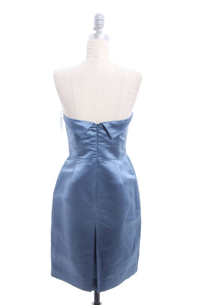 MARC BY MARC JACOBS Dusty Blue Strapless Bustier Dress Size 4