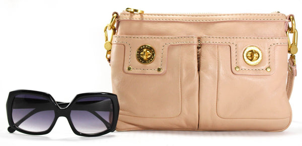 MARC BY MARC JACOBS Nude Pink Totally Turnlock Percy Crossbody Bag