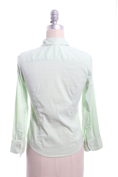 THEORY Multi-color Button Down Shirt Top Size P