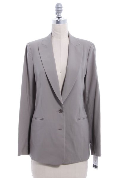 VINCE Gray Wool Two Button Blazer Sz 8