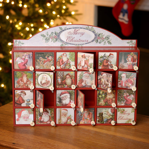 Primitives by Kathy Wooden Door Advent Calendar