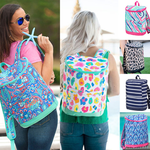Personalized Backpack Cooler Tote