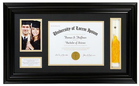 Graduation Keepsake Display Frame