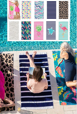 Viv & Lou Personalized Beach Towels