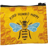 Bee Kind, Humble, Happy Sunflower Market Tote or Zippered Wallet Brookshire Boutique www.brookshireboutique.com Primitives by Kathy