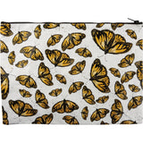 "14"" Monarch Butterfly Zippered Pouch Clutch Brookshire Boutique www.brookshireboutique.com Primitives by Kathy"