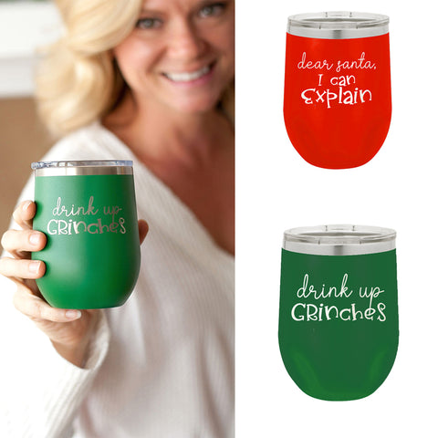Insulated Christmas Tumblers