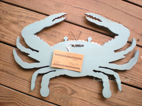Wooden Chesapeake Bay Blue Crab by Primitives by Kathy