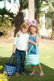 Personalized Easter Buckets Viv & Lou Brookshire Boutique www.brookshireboutique.com