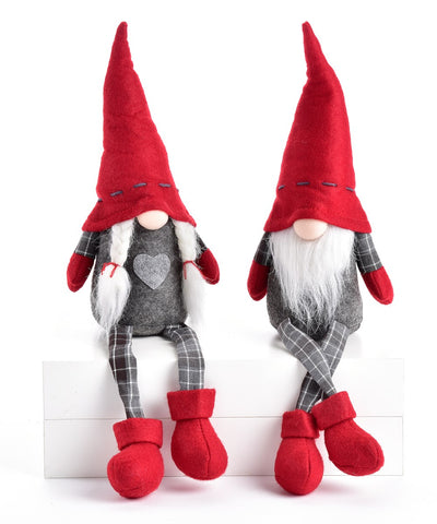 Christmas Gnome Shelf Sitter