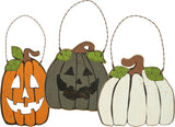 Brookshire Boutique www.brookshireboutique.com Primitives by Kathy Set of 3 Halloween Pumpkin Ornaments