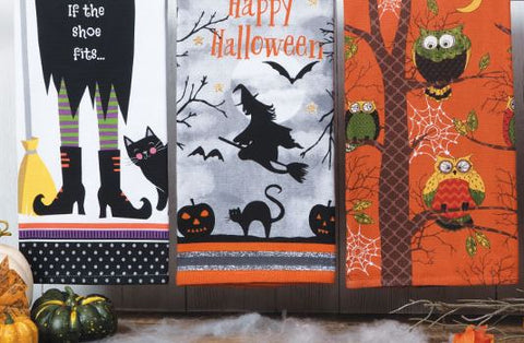 Halloween Tea Towels