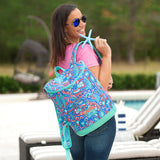 Personalized Backpack Cooler Tote Viv & Lou Brookshire Boutique www.brookshireboutique.com
