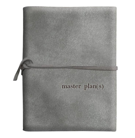 Master Plan(s) Suede Journal