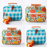 Insulated Lunch Tote: Poppies or Gingham Mixed Bag Designs Brookshire Boutique www.brookshireboutique.com