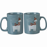 Primitives by Kathy I am Freaking Merry Llama Christmas Mug Brookshire Boutique www.brookshireboutique.com