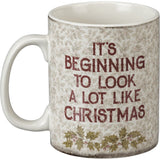 Merry Christmas Vintage Santa Mug Primitives by Kathy Brookshire Boutique www.brookshireboutique.com