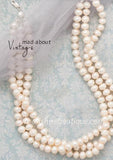 "18"" + 2"" Multi Strand Cultured Freshwater Pearl Necklace"