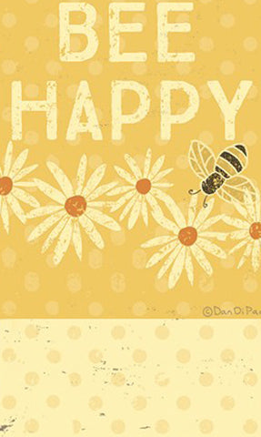 Bee Happy Magnetic Notepad