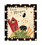 Fresh is Good Recipe Binder, Cards & Insert Pages Brownlow Brookshire Boutique www.brookshireboutique.com