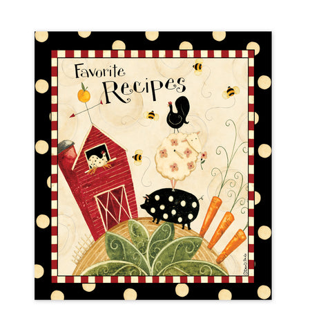 Fresh is Good Recipe Binder, Cards & Insert Pages