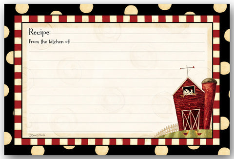 Brownlow's Recipe Cards: Pack of 36