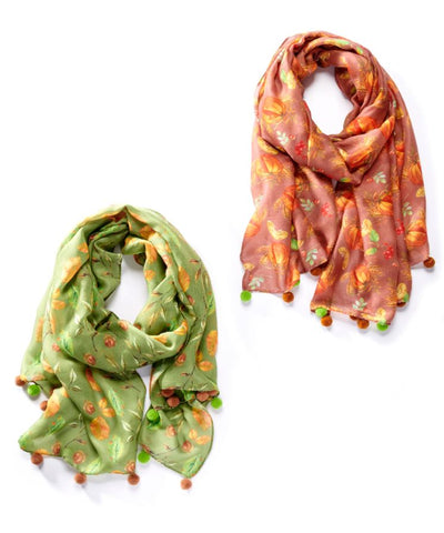Fall Themed Scarf
