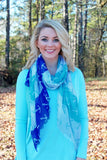 Coastal Scarf: Anchors or Starfish brookshireboutique.com Brookshire Boutique