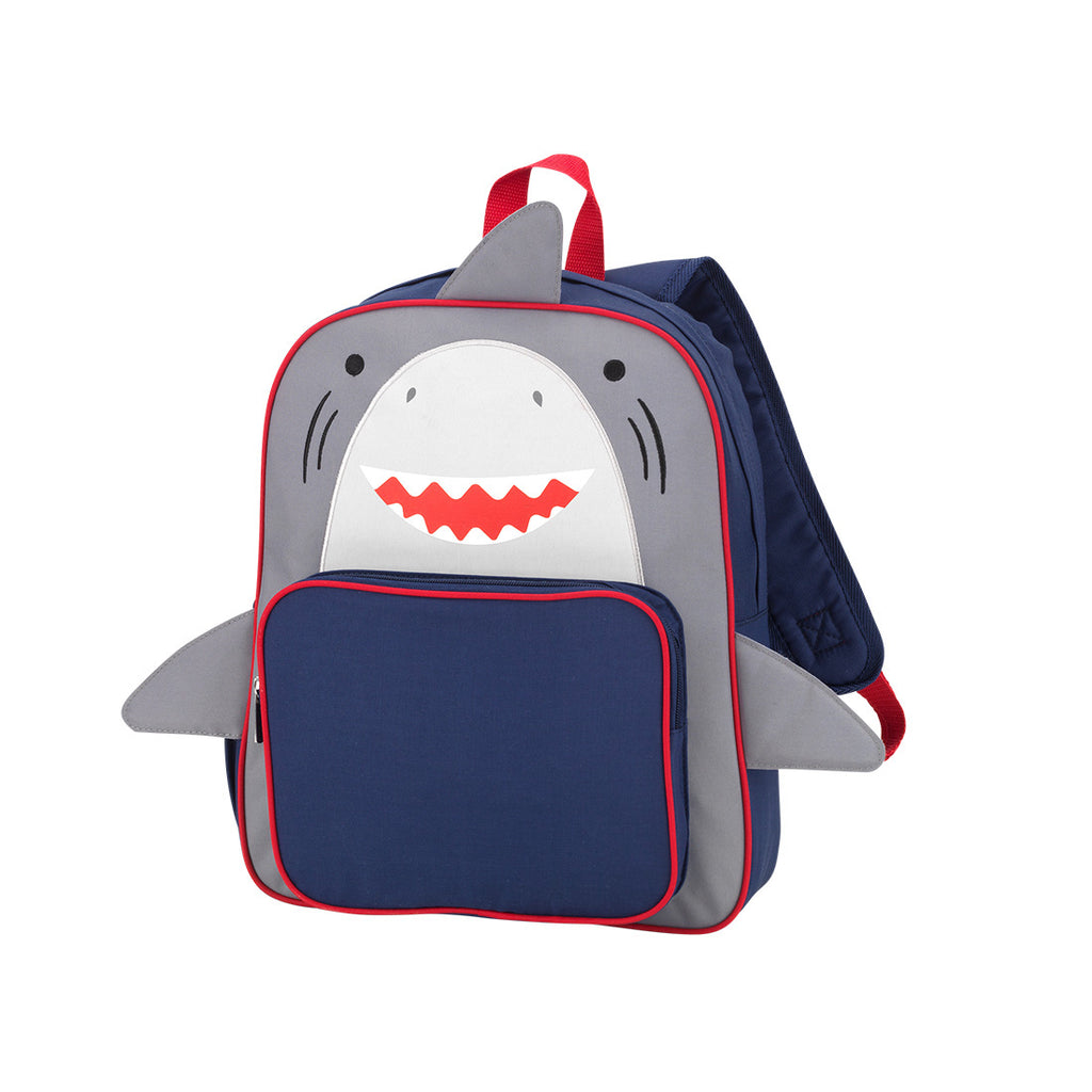 Personalized Monogrammed Preschool Shark or Butterfly Backpack Viv & Lou Brookshire Boutique www.brookshireboutique.com