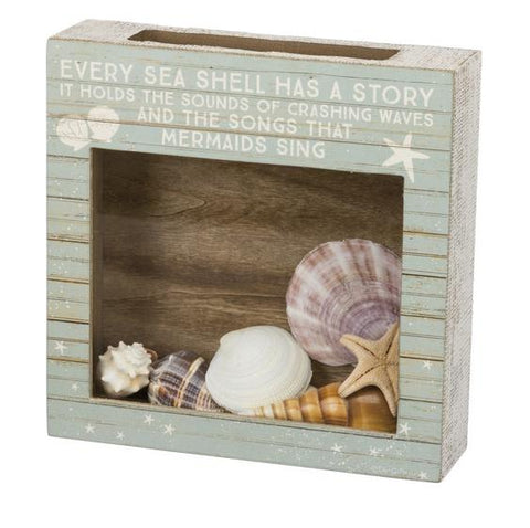 Every Shell Tells a Story Shadow Collection Box