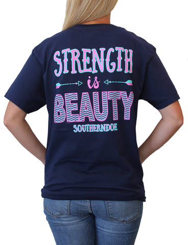 Southern Doe Strength is Beauty Tee Shirt