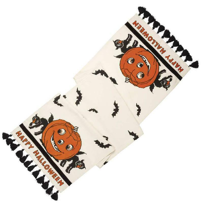 Vintage Style Halloween Table Runner Brookshire Boutique www.brookshireboutique.com Primitive by Kathy