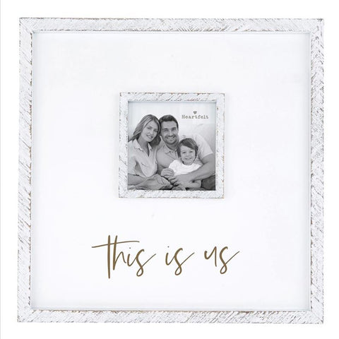 "12"" x 12"" ""This is Us"" Photo Frame"