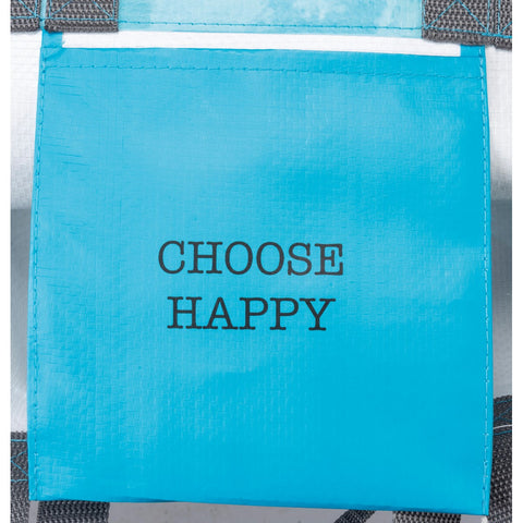 Choose Happy Cow Reusable Market Tote: Friendship Heart Gallery