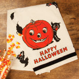 Happy Halloween Tea Towel Primitives by Kathy www.brookshireboutique.com Brookshire Boutique
