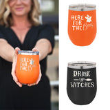 Insulated Halloween Tumblers Brookshire Boutique Viv & Lou brookshireboutique.com