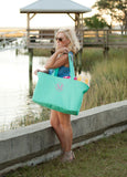 Personalized Monogrammed HUGE Ultimate Tote www.brookshireboutique.com