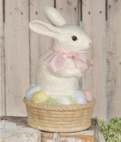 Easter Bunny on Basket