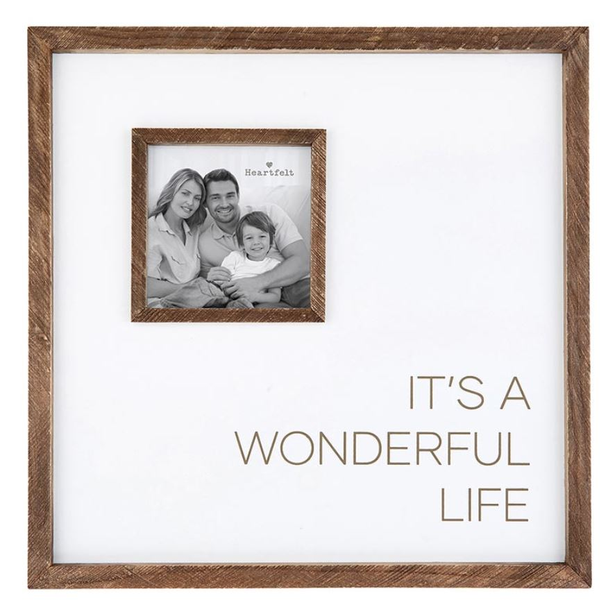 12 x 12 It's a Wonderful Life photo frame Brookshire Boutique www.brookshireboutique.com