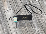 VCU Virginia Commonwealth University Stadium Friendly Clear Purse