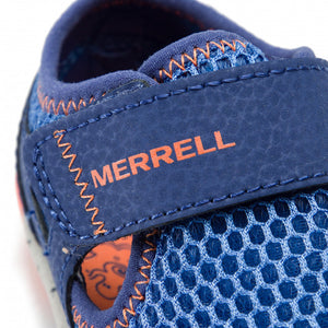 Merrell Kids Bare Steps H20 Sandal - Blue