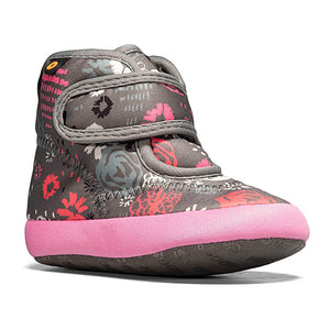 Elliot II Garden Party Baby Boot - Dark Grey Multi